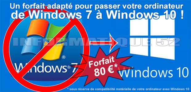 Migrer vers Windows 10
